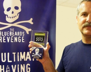 Bluebeards Revenge named best shaving product of 2012 in coveted Lookmantastic awards