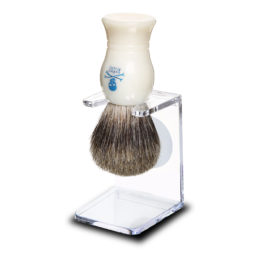 The Bluebeards Revenge Pure Badger Brush & Drip Stand