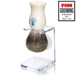 The Bluebeards Revenge Badger Brush and Stand Gift Set