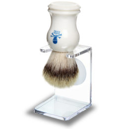 The Bluebeards Revenge Vanguard Synthetic Bristle Shaving Brush & Drip Stand