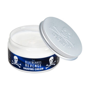 vegan friendly men's shaving cream for sensitive skin by the bluebeards revenge