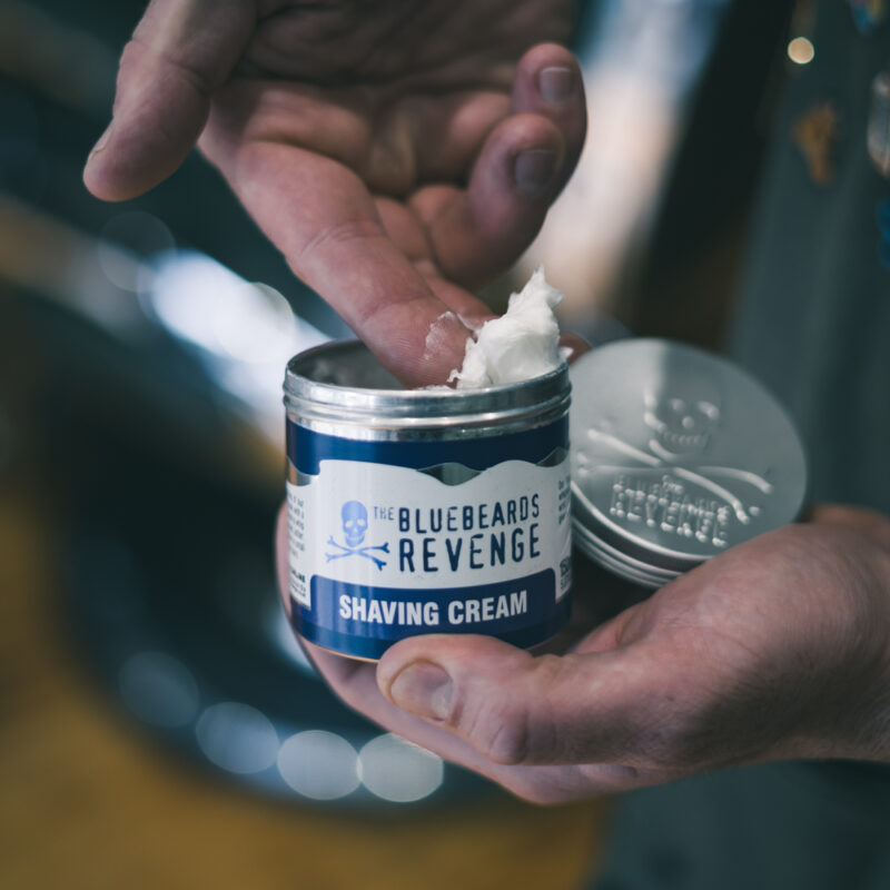 The Bluebeards Revenge Traditional Barbershop Shaving Cream for Men