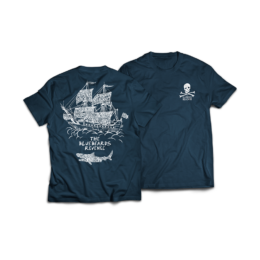 Classic crew neck t-shirt by The Bluebeards Revenge with hand-drawn graphics