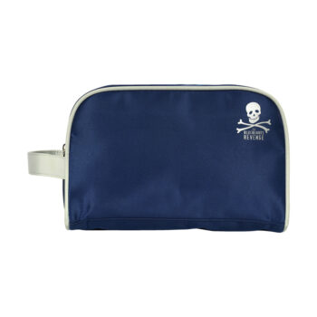 blue water proof men's travel wash bag by the bluebeards revenge