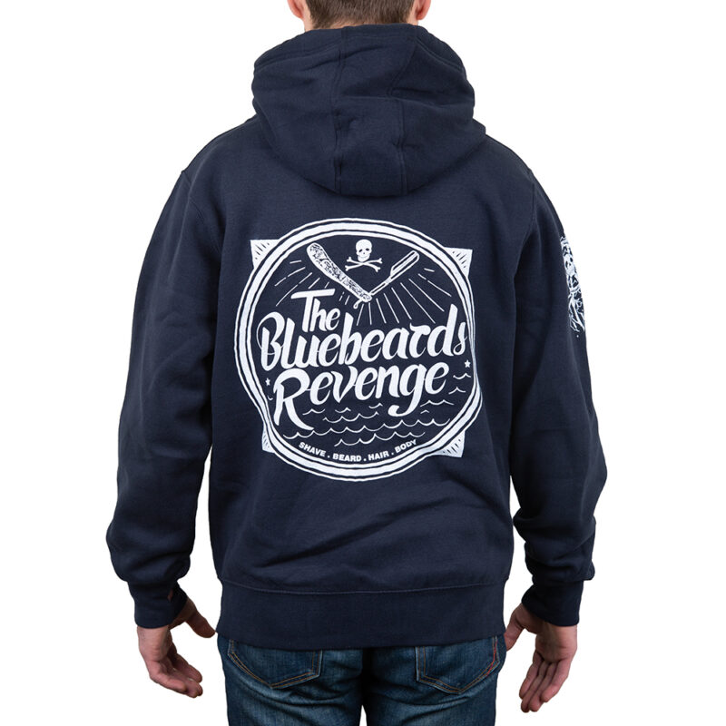 The Bluebeards Revenge Premium Zip Hoodie Back