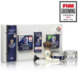 The Bluebeards Revenge Shaving Cream, Brush and Mach 3 Razor Gift Set