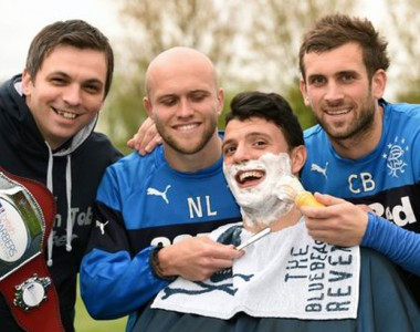 Scotland man wins Britain's Best Shave – and bags job as official Rangers barber in same week