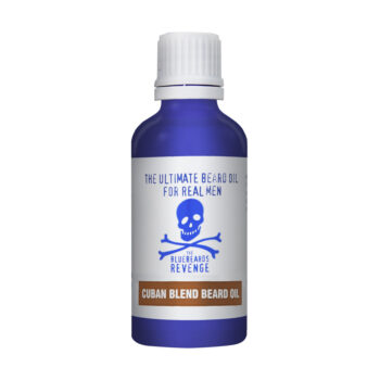vegan friendly cuban blend beard oil by the bluebeards revenge