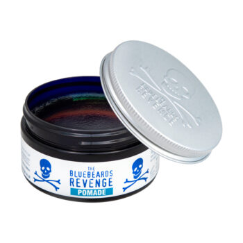 water-based strong hold high-shine hair pomade for men by the bluebeards revenge