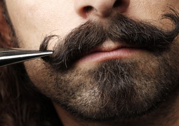 How to trim and style your moustache