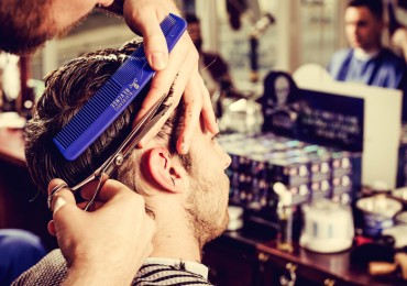 Scottish barbers make a high-street comeback as men go retro and abandon salons