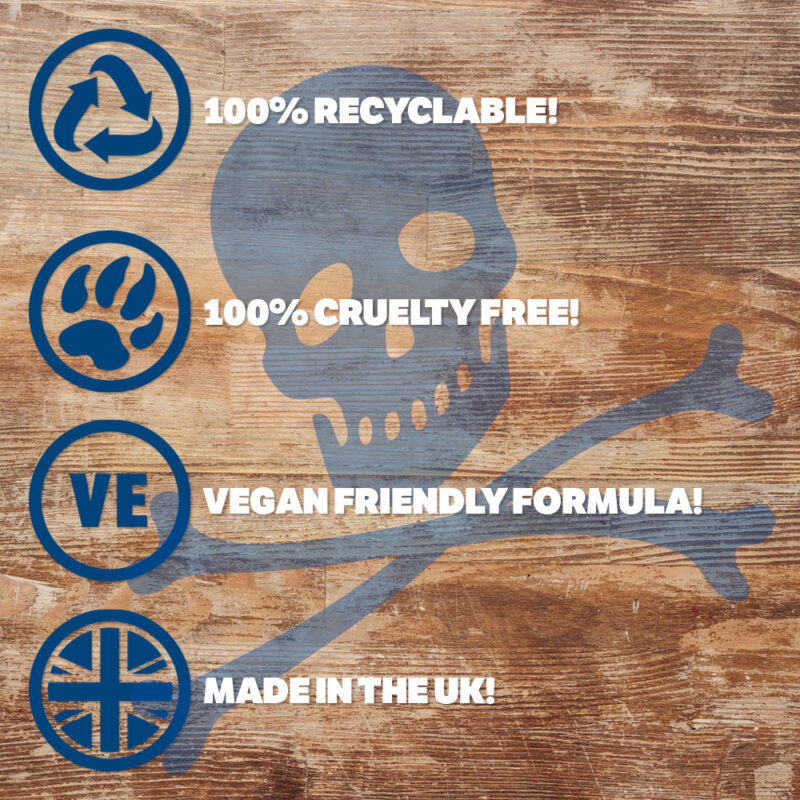 100% Recyclable, Cruelty Free, Vegan & UK Made - Our Ethics