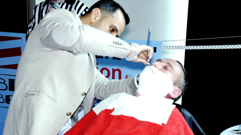 cut throat shave
