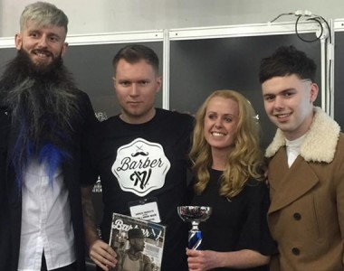 Glasgow woman crowned Scotland's Best Barber 2016