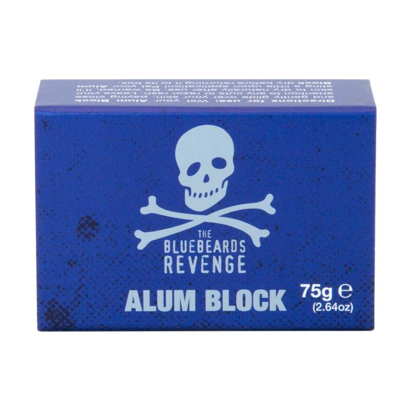 bluebeards revenge alum block in its plastic free matchbox