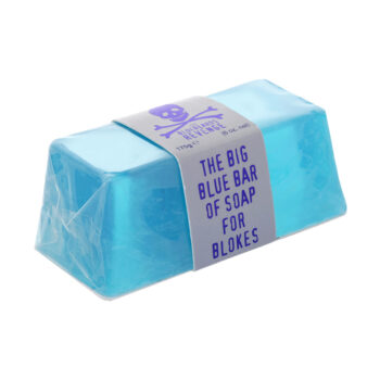 vegan friendly SLS-free hand and body big blue bar of soap for men by the bluebeards revenge