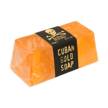vegan friendly, SLS-free hand and body CubanGold soap bar for men by the bluebeards revenge