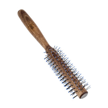 wooden quiff roller round brush for men's quiff hairstyles by the bluebeards revenge