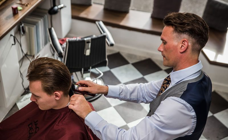 barbershop barber haircut