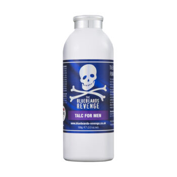 vegan friendly scented talcum powder for men by the bluebeards revenge