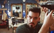 Styling a disconnected slick-back with The Bluebeards Revenge