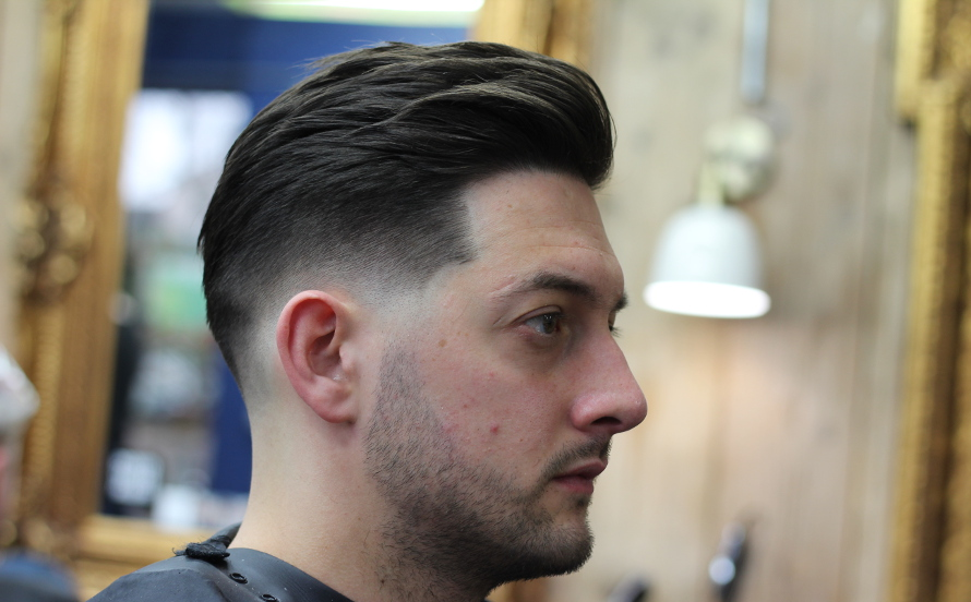Whats The Difference Between A Taper And A Fade The Bluebeards