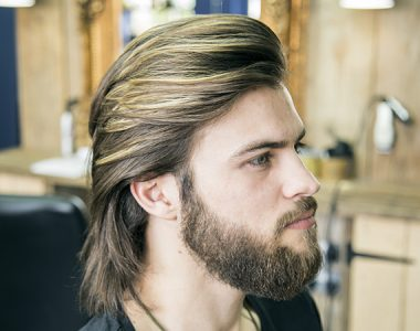 Top tips for growing men's long hair