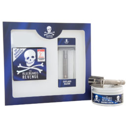 The Bluebeards Revenge Shaving Cream & Cutlass Razor Kit