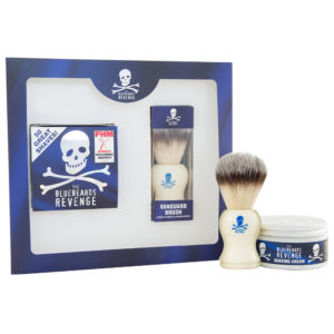 The Bluebeards Revenge Shaving Cream & Vanguard Brush Kit
