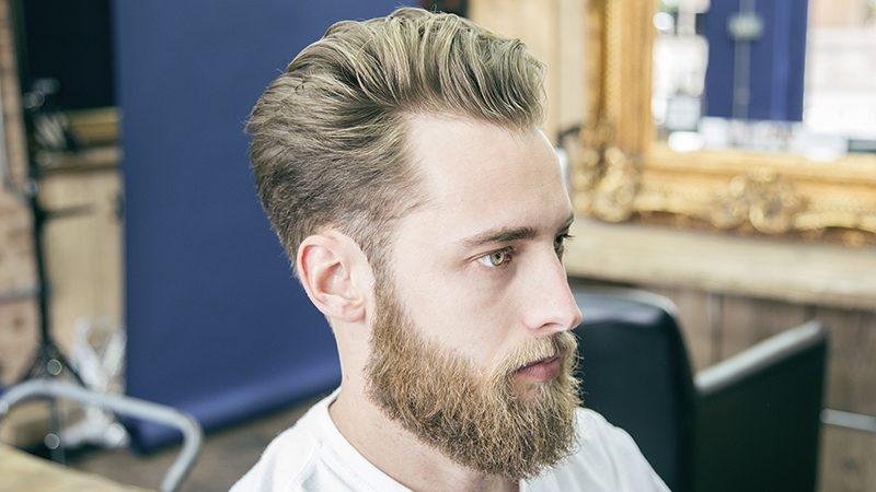How To Cut And Style A Textured Pompadour The Bluebeards Revenge