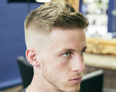 How to cut and style a military-inspired high and tight haircut