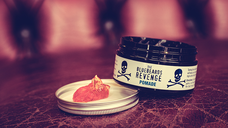 the ultimate water based pomade for men's hair from the bluebeards revenge