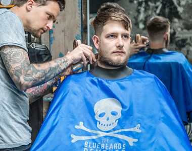 All heroes wear capes: The Bluebeards Revenge launches new barber gown in collaboration with Neocape