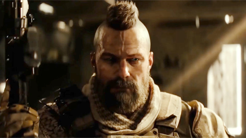 How to style Ruin's mohawk from Call of Duty: Black Ops 4 with The Bluebeards Revenge