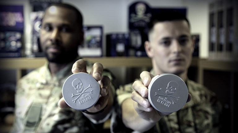the bluebeards revenge supports royal marines charity with donation