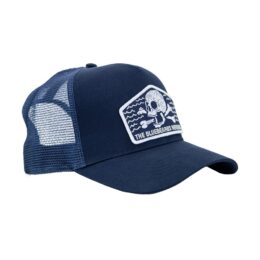 Bluebeards Revenge Trucker Cap with Mesh Back and Custom Patch