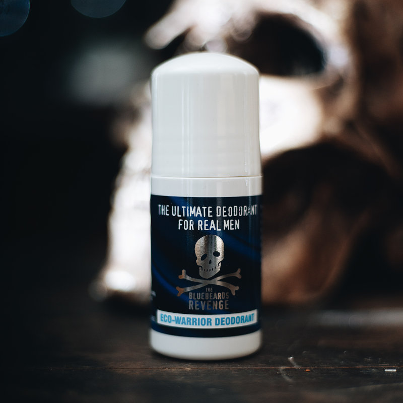 men's aluminium free scented antiperspirant deodorant roll-on by the bluebeards revenge