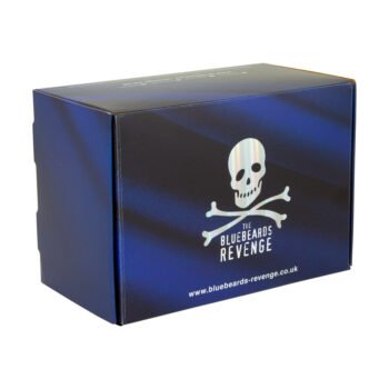 cardboard gift by by men's grooming brand the bluebeards revenge