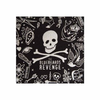 Hand-Drawn Illustrated Patch by The Bluebeards Revenge