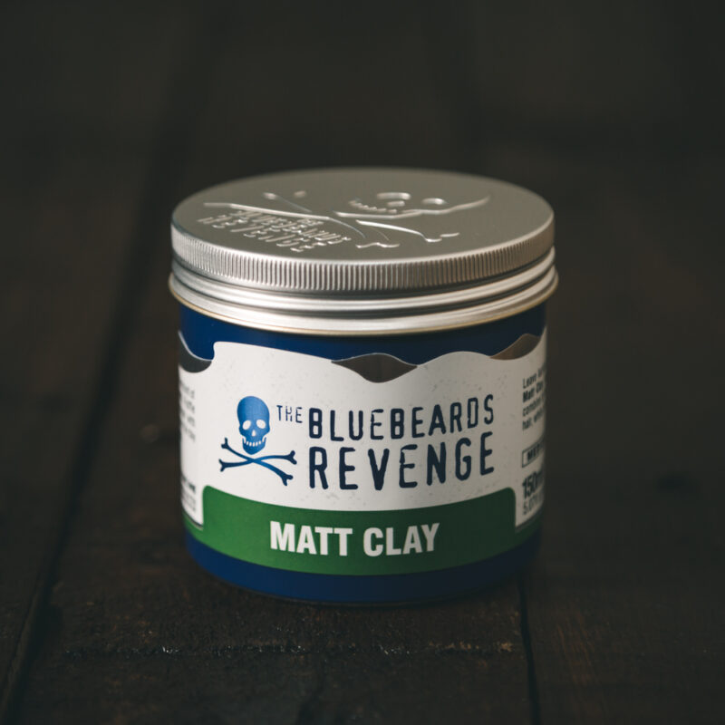 natural texturising hair clay for men by the bluebeards revenge