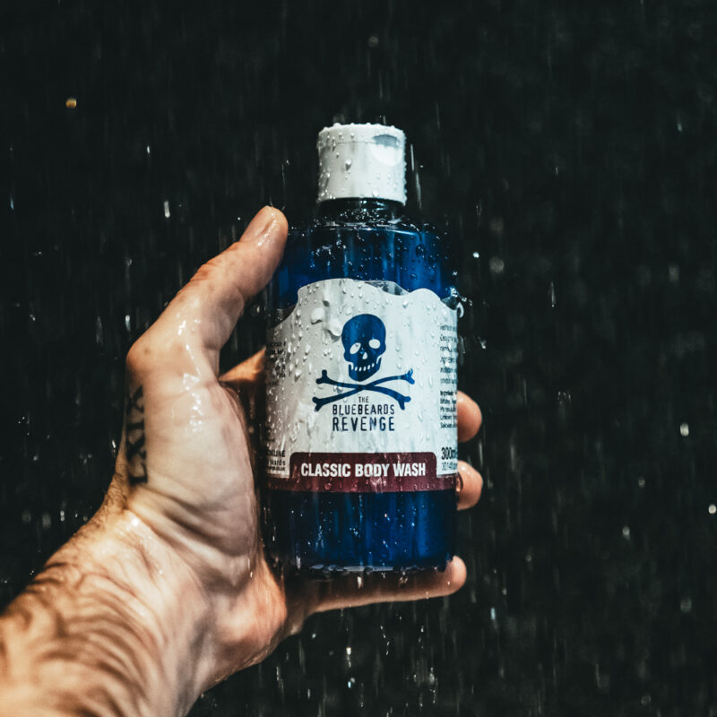 Vegan Friendly Shower Gel Body Wash by The Bluebeards Revenge with a Classic barbershop scent